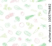 hand drawn seamless pattern... | Shutterstock .eps vector #1005796882