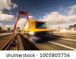 the background of a highway. | Shutterstock . vector #1005805756