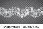 blizzard snowflakes on... | Shutterstock .eps vector #1005826252