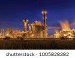 gas combine electric power... | Shutterstock . vector #1005828382