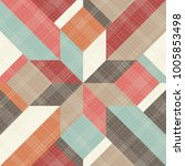 seamless abstract pattern with... | Shutterstock .eps vector #1005853498