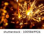 christmas new year  bokeh | Shutterstock . vector #1005869926