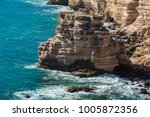 travel view of kalbarri coastal ... | Shutterstock . vector #1005872356