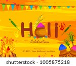 party flyer or poster for... | Shutterstock .eps vector #1005875218