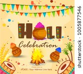 party flyer or poster for... | Shutterstock .eps vector #1005877546
