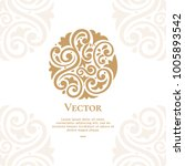 vector emblem. can be used for... | Shutterstock .eps vector #1005893542