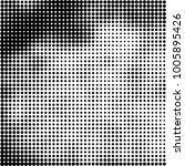 halftone black and white | Shutterstock .eps vector #1005895426