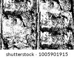 the grunge texture black and... | Shutterstock . vector #1005901915