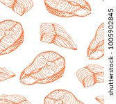 seamlesss vector pattern with... | Shutterstock .eps vector #1005902845