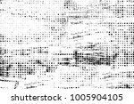 grunge black and white pattern. ... | Shutterstock . vector #1005904105