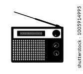 radio sign icon | Shutterstock .eps vector #1005914995