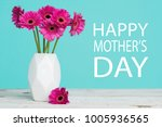 happy mother's day pastel candy ... | Shutterstock . vector #1005936565