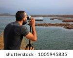 delta of nestos river  greece ... | Shutterstock . vector #1005945835