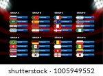 football world championship... | Shutterstock .eps vector #1005949552
