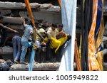 dhaka  bangladesh   april 24 ... | Shutterstock . vector #1005949822