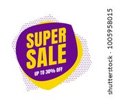 sale banner template design ... | Shutterstock .eps vector #1005958015