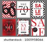 sale banner template design ... | Shutterstock .eps vector #1005958066
