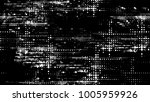 grainy black and white distress ... | Shutterstock .eps vector #1005959926