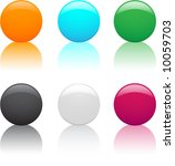 color balls | Shutterstock .eps vector #10059703