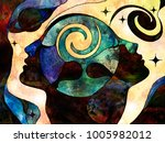 stained glass forever series.... | Shutterstock . vector #1005982012