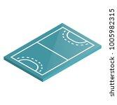 icon playground handball....   Shutterstock . vector #1005982315