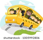 illustration of stickman boys... | Shutterstock .eps vector #1005992806
