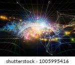 lights of technology series....   Shutterstock . vector #1005995416