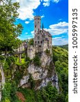 lichtenstein castle. baden... | Shutterstock . vector #1005997135