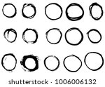 grunge hand drawn vector... | Shutterstock .eps vector #1006006132
