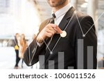 investmen  finance and business ... | Shutterstock . vector #1006011526