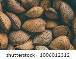shelled almonds  close up view... | Shutterstock . vector #1006012312