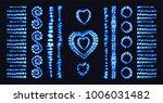tie dye heart. valentines day.... | Shutterstock .eps vector #1006031482
