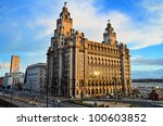 The Royal Liver Building On Th...