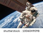 international space station and ... | Shutterstock . vector #1006049098