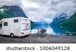family vacation travel rv ... | Shutterstock . vector #1006049128