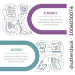 line illustration of diagnosis... | Shutterstock .eps vector #1006050076