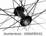 detail of front bicycle wheel ... | Shutterstock . vector #1006050142