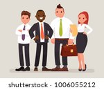 business team. a group of... | Shutterstock .eps vector #1006055212