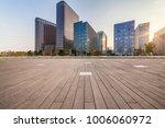 empty floor with modern... | Shutterstock . vector #1006060972