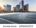 empty road with modern business ... | Shutterstock . vector #1006062025