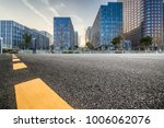 empty road with modern business ... | Shutterstock . vector #1006062076