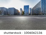 empty road with modern business ... | Shutterstock . vector #1006062136