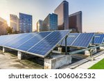 solar and modern city skyline | Shutterstock . vector #1006062532