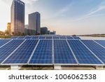 solar and modern city skyline | Shutterstock . vector #1006062538
