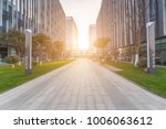 modern building and beautiful... | Shutterstock . vector #1006063612