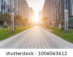 modern building and beautiful... | Shutterstock . vector #1006063612