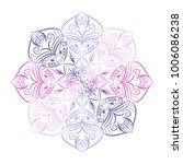 flower mandala. vintage...   Shutterstock .eps vector #1006086238