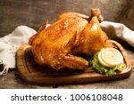 baked chicken farm product | Shutterstock . vector #1006108048