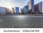 empty road with modern business ... | Shutterstock . vector #1006136782