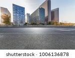 empty road with modern business ... | Shutterstock . vector #1006136878